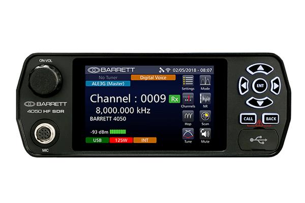 Barrett 4050 HF SDR Front View