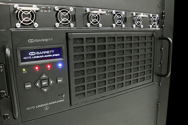 Barrett 4075 1KW HF transmitter receives FCC certification