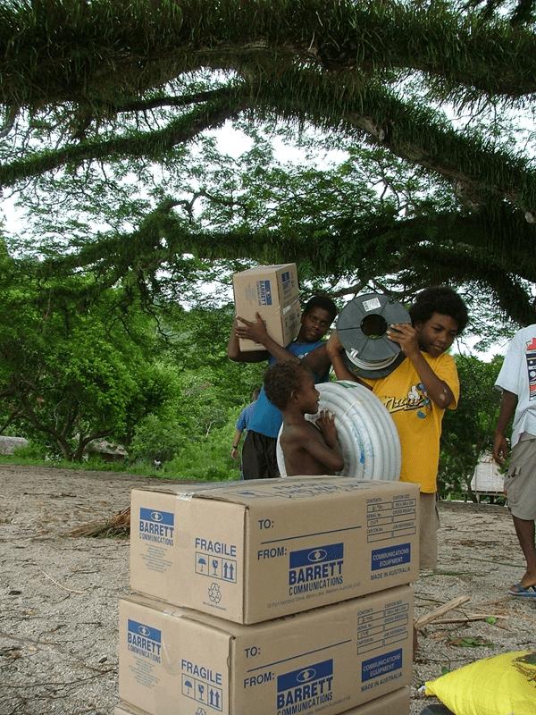 Feeding The World: HF radio's role in humanitarian food distribution