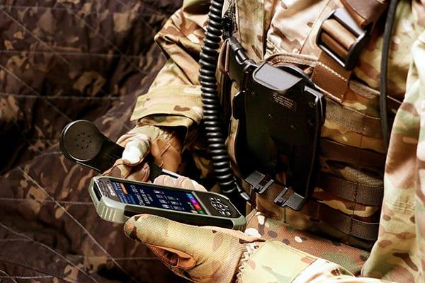 PRC-4090 Handset operation