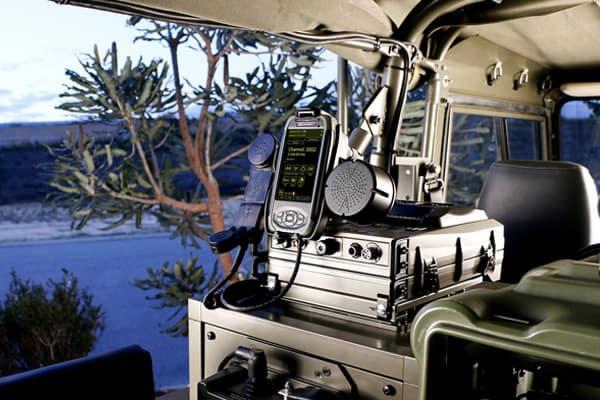 PRC-4090 Mobile Landrover setup
