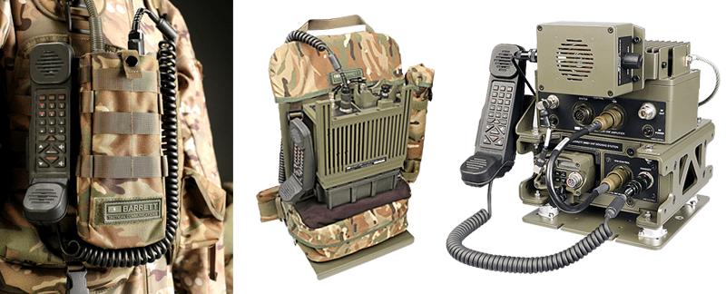 Barrett VHF radio 2080+ system